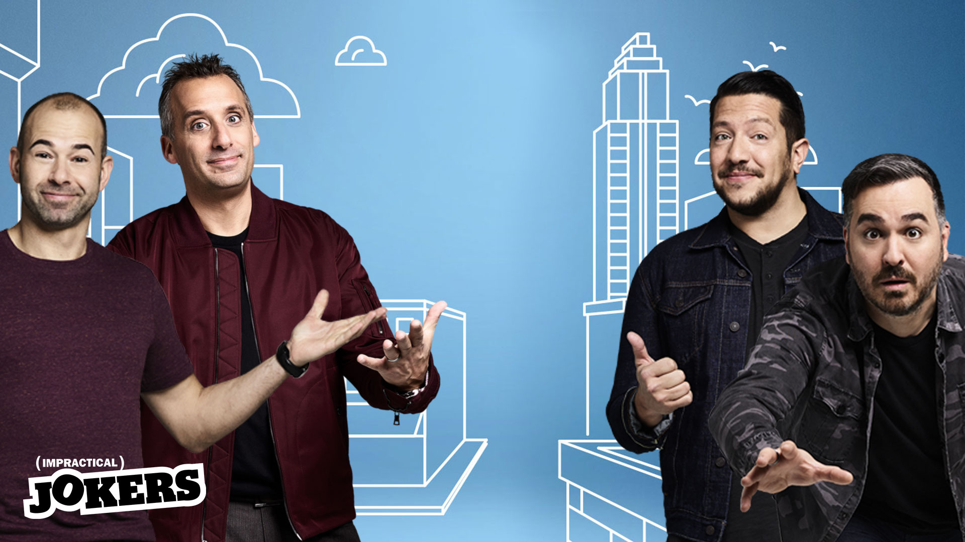Impractical Jokers background
